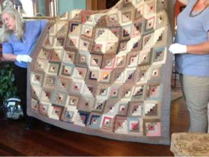 Antique Log Cabin Quilt