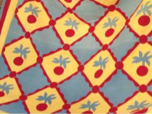 1890s  Mennonite cherry quiltat the La Conner Quilt Museum