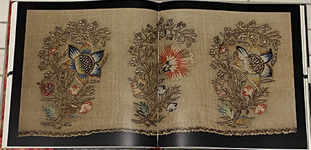 Detail of Turkish embroidery