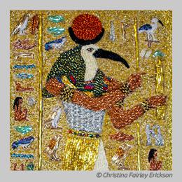 Golden Thoth by Christina Fairley Erickson