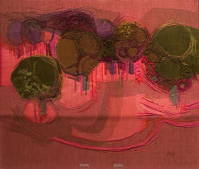"""""""Early Landscape"""" (1960's) by Audrey Walker."""