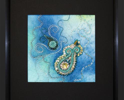 Turquoise Dance by Christina Fairley Erickson