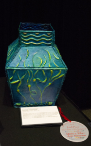 """Bull Kelp Forest Vessel"" - 2nd place Fiber Art 3D / Sculptural by Christina Fairley Erickson"