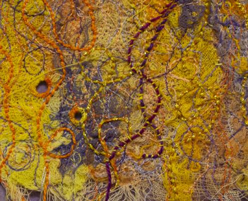 Mardi Gras -detail- by Christina Fairley Erickson